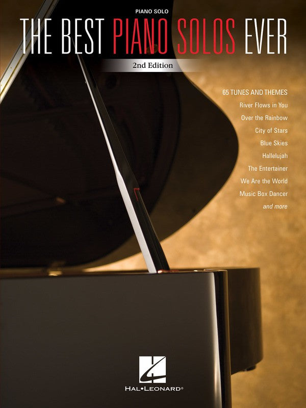 THE BEST PIANO SOLOS EVER 2ND EDITION