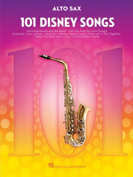 101 DISNEY SONGS FOR ALTO SAX