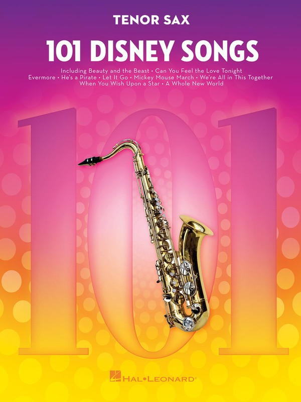 101 DISNEY SONGS FOR TENOR SAX