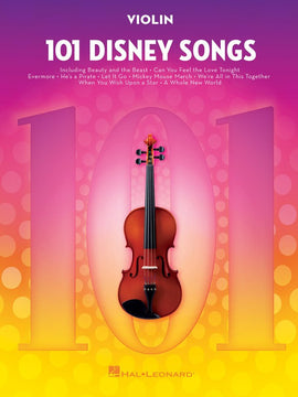 101 DISNEY SONGS FOR VIOLIN