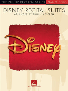 DISNEY RECITAL SUITES PHILLIP KEVEREN PIANO SOLO
