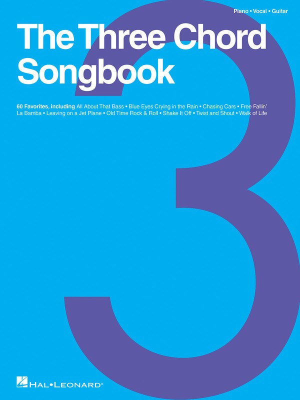 THE THREE CHORD SONGBOOK PVG