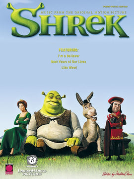 SHREK THE SOUNDTRACK PVG