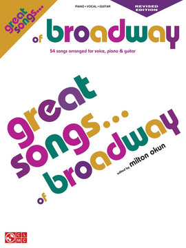 GREAT SONGS OF BROADWAY PVG REVISED ED