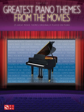 GREATEST PIANO THEMES FROM THE MOVIES PS