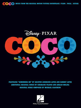 COCO MOVIE SOUNDTRACK PVG