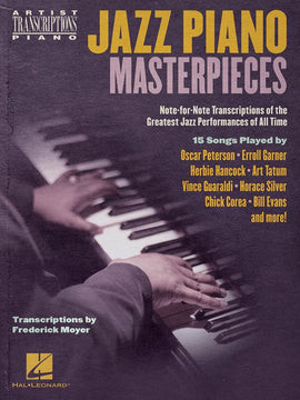 JAZZ PIANO MASTERPIECES ARTISTS TRANSCRIPTIONS