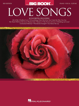 THE BIG BOOK OF LOVE SONGS PVG 3RD EDITION