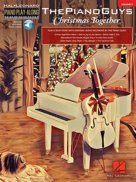 PIANO GUYS CHRISTMAS TOGETHER PIANO PLAYALONG V9 BK/OLA