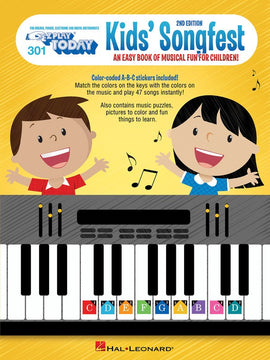 KIDS SONGFEST EZ PLAY 301 2ND EDITION
