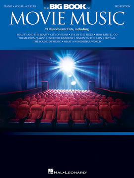 THE BIG BOOK OF MOVIE MUSIC 3RD EDITION PVG