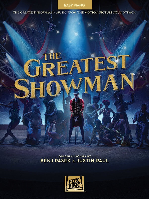 THE GREATEST SHOWMAN MOVIE SOUNDTRACK EASY PIANO