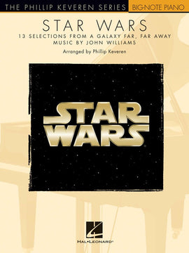 STAR WARS BIG NOTE PIANO PHILLIP KEVERN SERIES