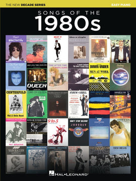 SONGS OF THE 1980S NEW DECADE SERIES EASY PIANO