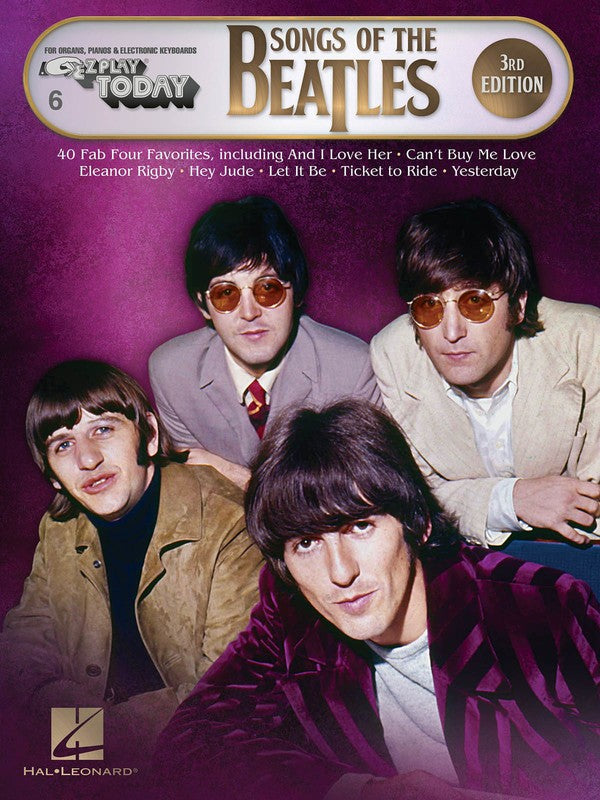 SONGS OF THE BEATLES 3RD EDITION EZ PLAY 6