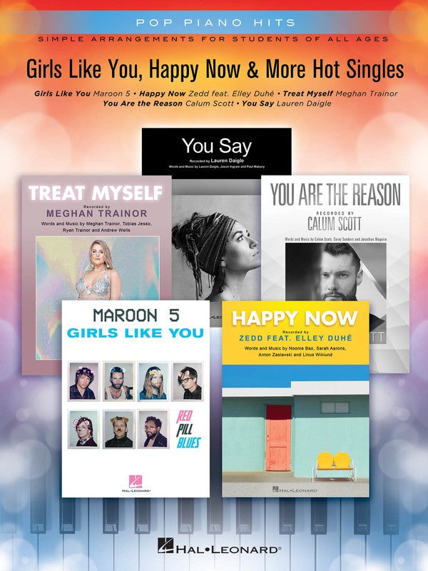 GIRLS LIKE YOU HAPPY NOW & MORE HOT SINGLES PPH