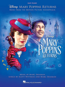 MARY POPPINS RETURNS MOVIE SOUNDTRACK EASY PIANO