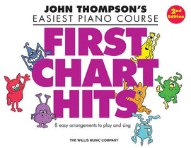 EASIEST PIANO COURSE FIRST CHART HITS 2ND EDITION