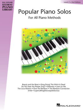 HLSPL POPULAR PIANO SOLOS BK 2 2ND EDN