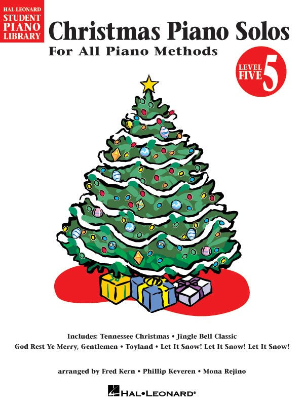 HLSPL CHRISTMAS PIANO SOLOS BK 5