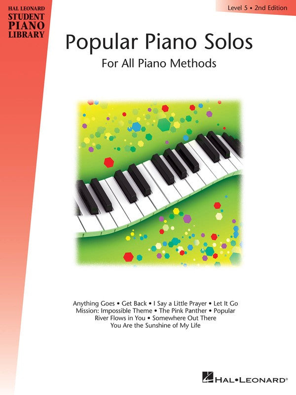 HLSPL POPULAR PIANO SOLOS BK 5 2ND EDN