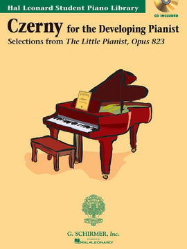 HLSPL CZERNY LITTLE PIANIST OP 823 BK/CD