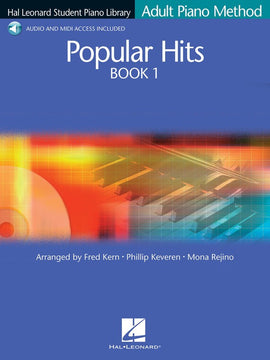 HLSPL ADULT PIANO POPULAR HITS BK1 BK/OLA