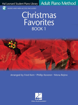 HLSPL ADULT CHRISTMAS FAVORITES BK 1 BK/CD