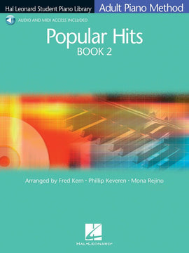 HLSPL ADULT PIANO POPULAR HITS BK 2 BK/CD