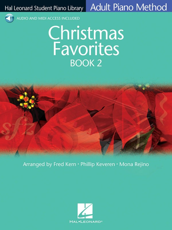 HLSPL ADULT CHRISTMAS FAVORITES BK 2 BK/CD