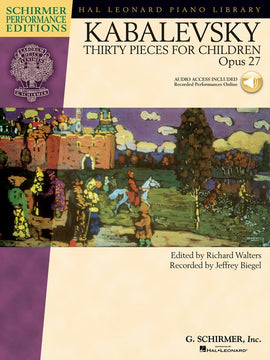 KABALEVSKY - 30 PIECES FOR CHILDREN OP 27 SPE BK/CD