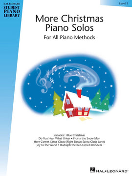 HLSPL MORE CHRISTMAS PIANO SOLOS LEVEL 1