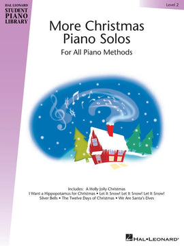 HLSPL MORE CHRISTMAS PIANO SOLOS LEVEL 2