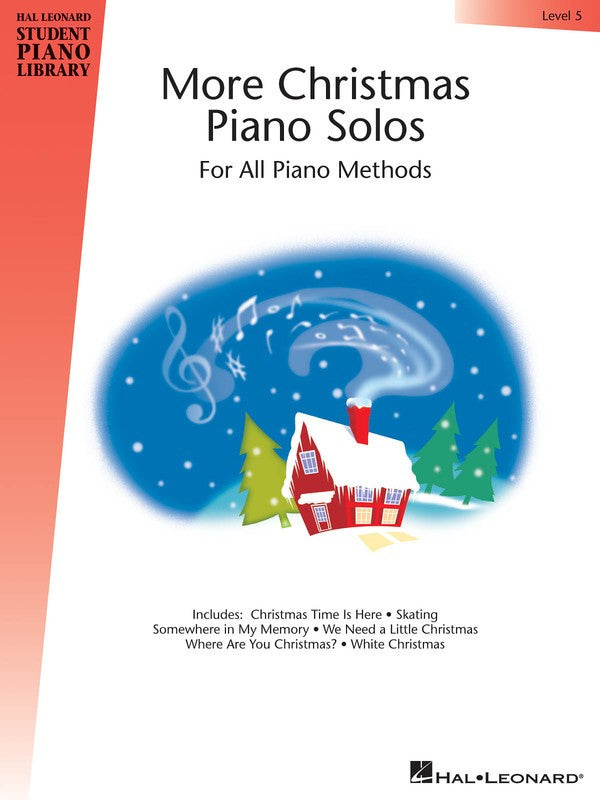 HLSPL MORE CHRISTMAS PIANO SOLOS LEVEL 5