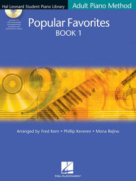 HLSPL ADULT PIANO POPULAR FAVORITES 1 BK/CD