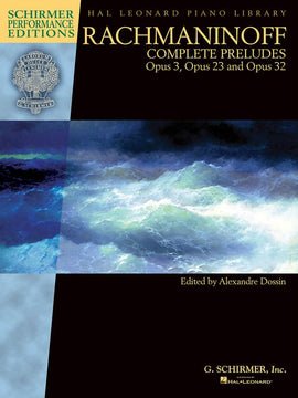 COMPLETE PRELUDES FOR PIANO OP 3 23 32 SPE