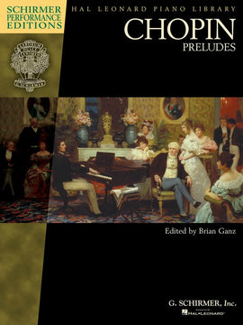 CHOPIN PRELUDES BOOK ONLY PIANO