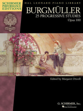 BURGMULLER 25 PROGRESSIVE STUDIES OP 100 BOOK ONLY