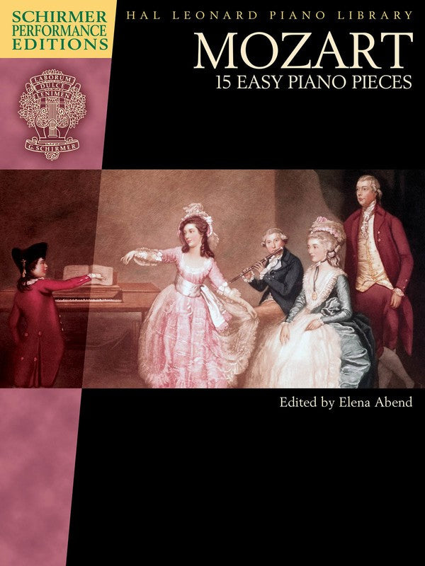MOZART 15 EASY PIANO PIECES SPE BOOK ONLY