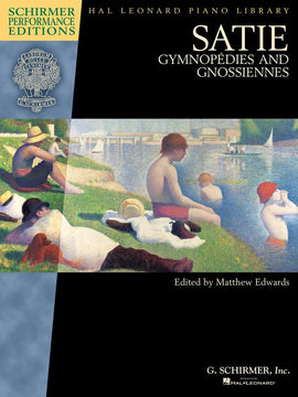 SATIE GYMNOPEDIES AND GNOSSIENNES BOOK ONLY
