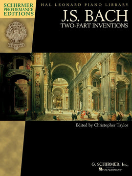 BACH TWO PART INVENTIONS SPE BOOK ONLY