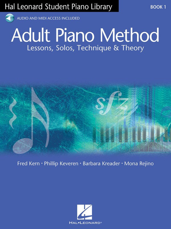 HLSPL ADULT PIANO METHOD BK 1 BK/OLA