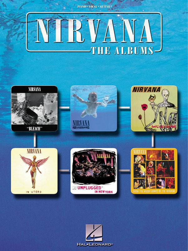 NIRVANA THE ALBUMS PVG
