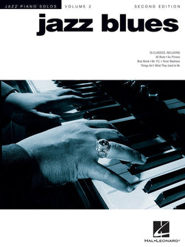 JAZZ BLUES JAZZ PIANO SOLOS V2 2ND ED JPS