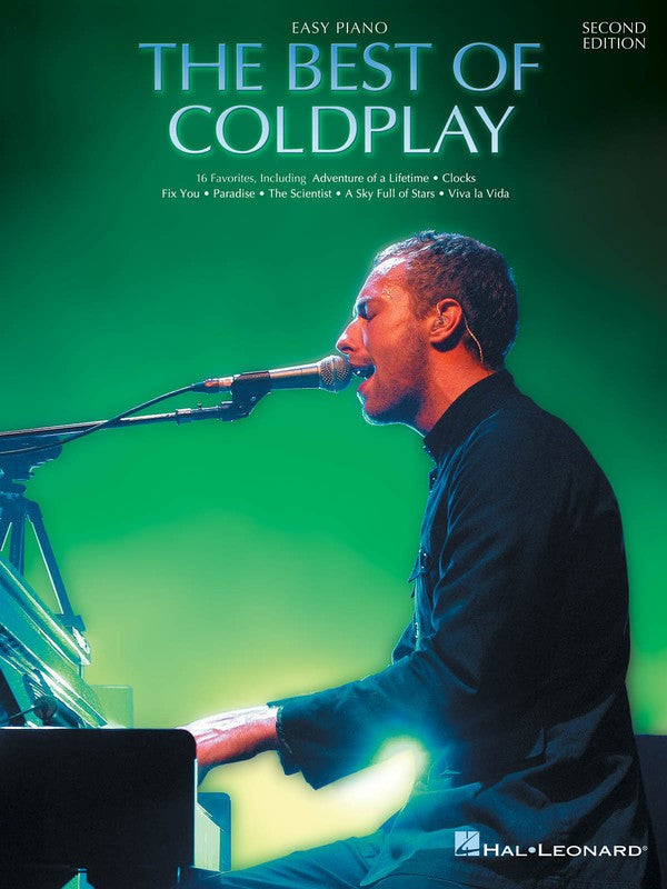 BEST OF COLDPLAY FOR EASY PIANO 2ND EDITION