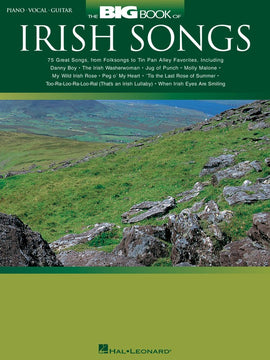 BIG BOOK OF IRISH SONGS PVG