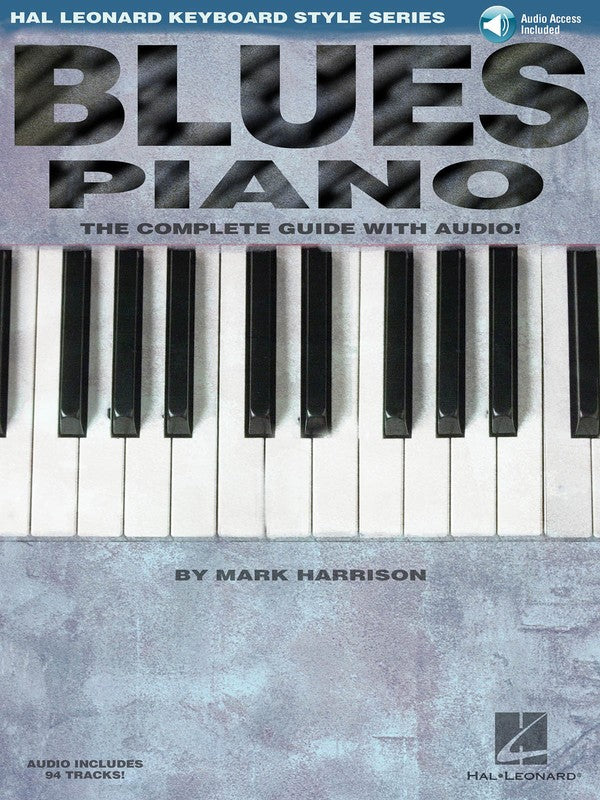 BLUES PIANO KEYBOARD STYLE SERIES BK/OLA