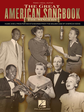 GREAT AMERICAN SONGBOOK THE SINGERS PVG