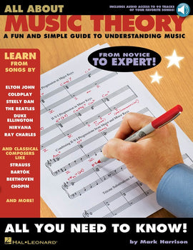 ALL ABOUT MUSIC THEORY BK/OLA
