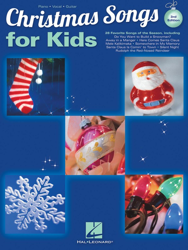 CHRISTMAS SONGS FOR KIDS PVG 3RD EDITION